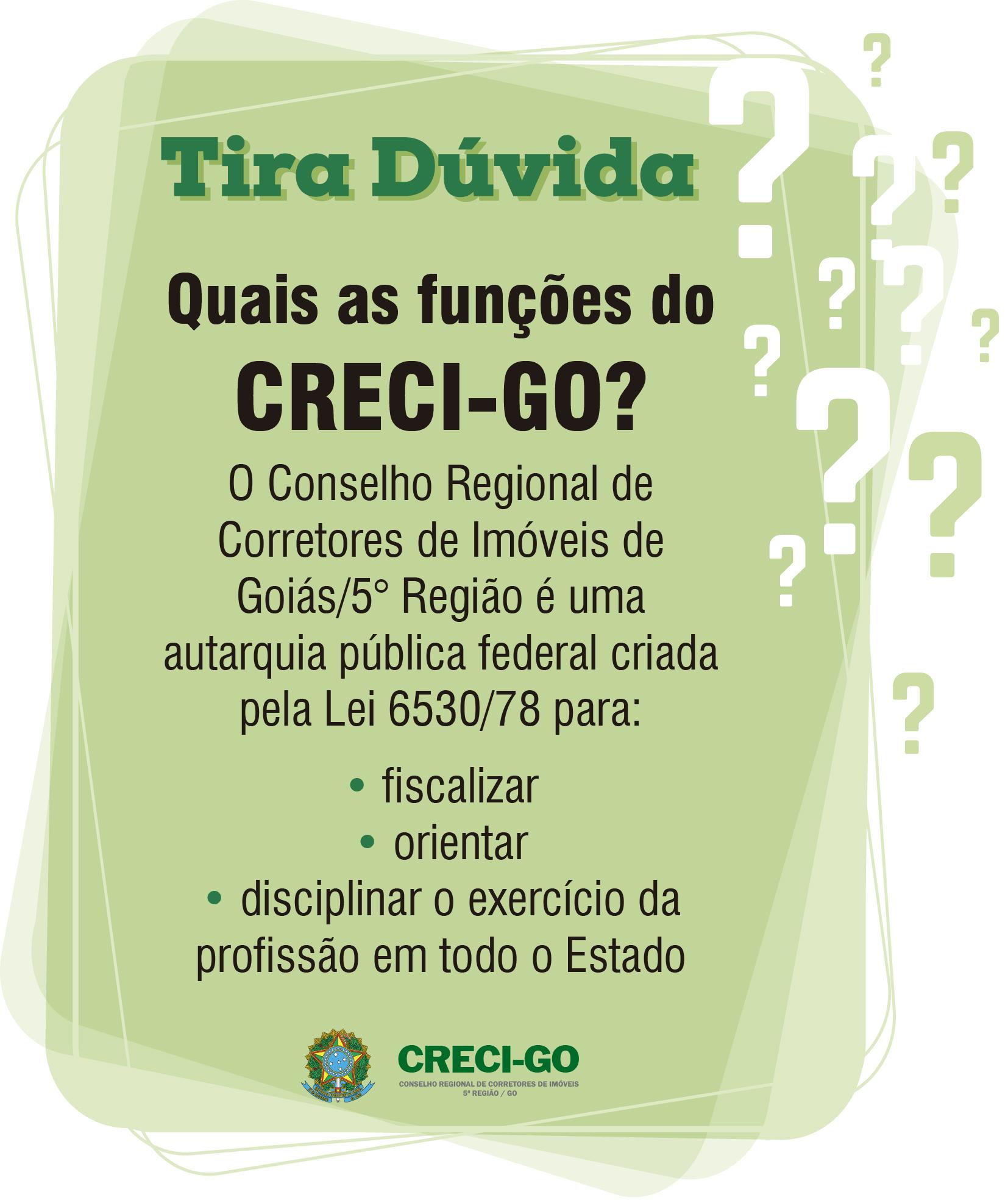 CRECI-GO lança campanha de esclarecimento | Creci-GO