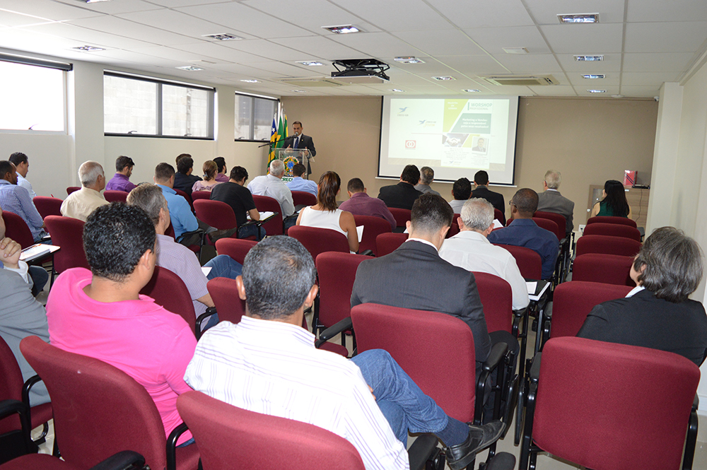 I Workshop Profissional lota auditório | Creci-GO