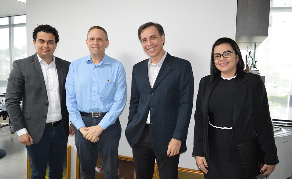 Secovi e Creci de Goiás reforçam parceria | CRECI-GO/ Conselho Regional de Corretores de Imóveis de Goiás