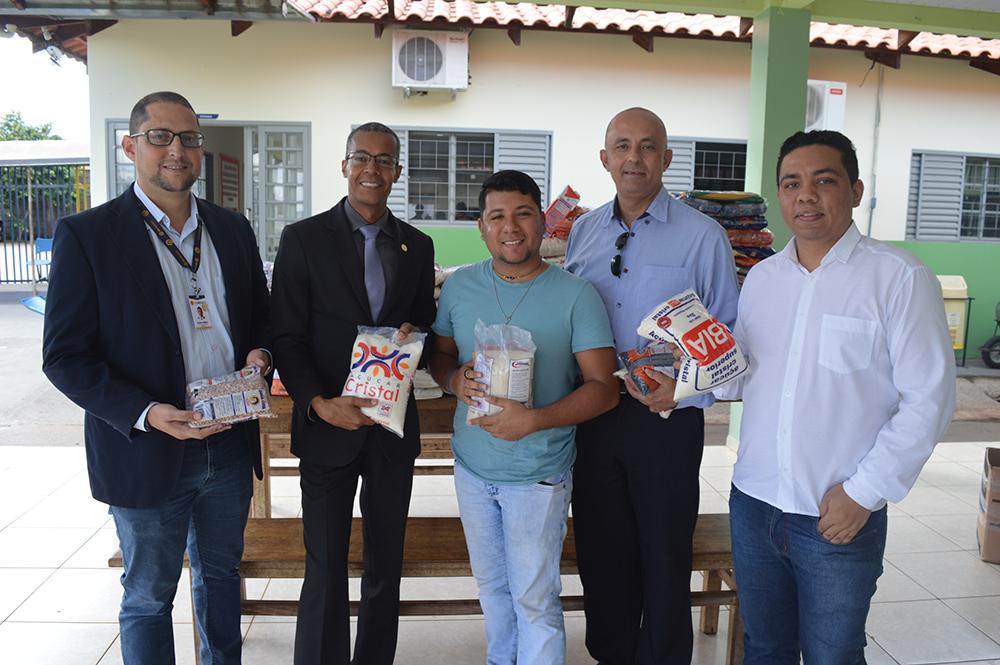 Doações arrecadadas são doadas ao Residencial Niso Prego | Creci-GO