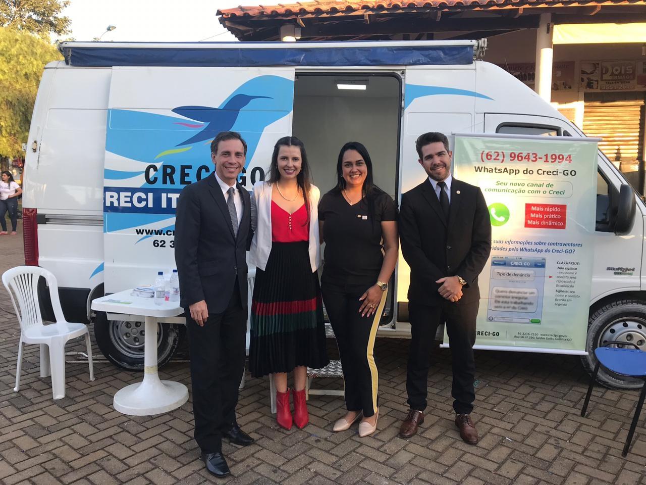 Creci Itinerante em Bela Vista de Goiás | CRECI-GO/ Conselho Regional de Corretores de Imóveis de Goiás