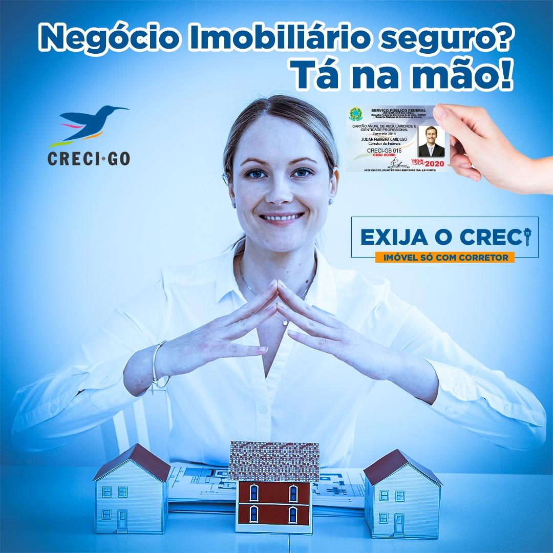CRECI-GO promove Campanha de Valorização da Profissão | CRECI-GO/ Conselho Regional de Corretores de Imóveis de Goiás