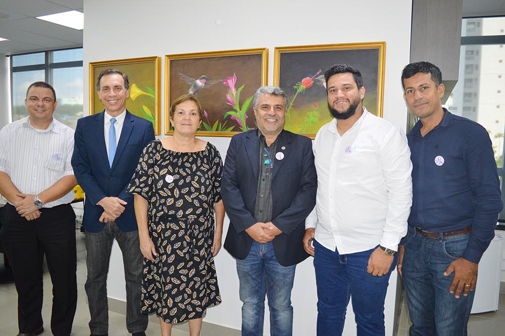 Presidente recebe diretoria Acian Anápolis no Conselho | CRECI-GO/ Conselho Regional de Corretores de Imóveis de Goiás