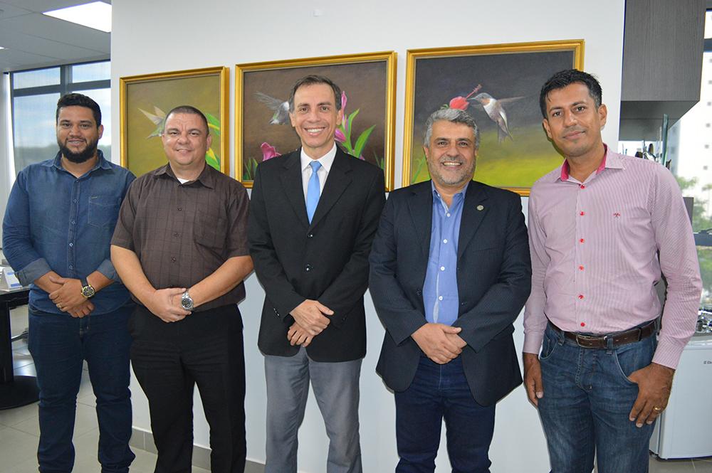 ACIAN Anápolis visita CRECI-GO | CRECI-GO/ Conselho Regional de Corretores de Imóveis de Goiás