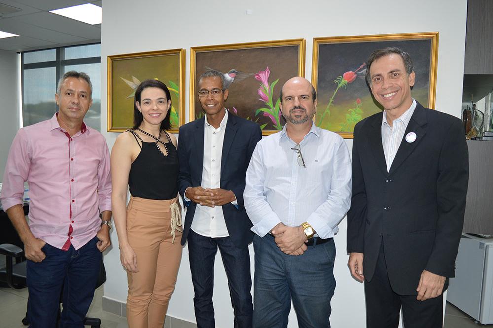 Diretoria da AIA visita CRECI-GO | CRECI-GO/ Conselho Regional de Corretores de Imóveis de Goiás