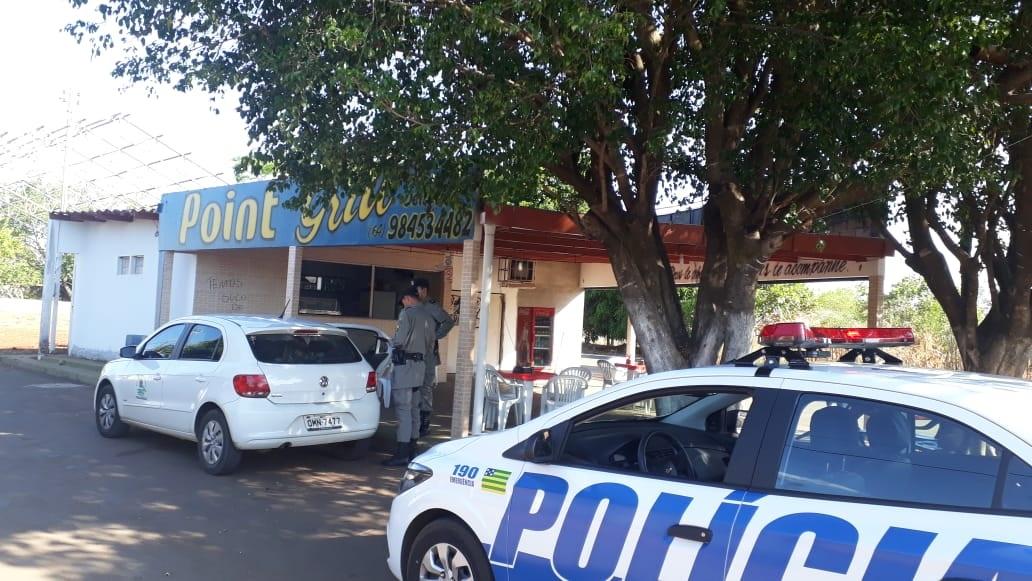 Contraventor é autuado com reforço da Polícia Civil em Iporá   CRECI-GO/ Conselho Regional de Corretores de Imóveis de Goiás