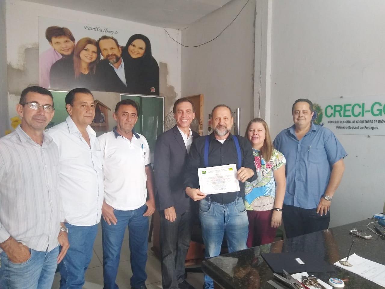 Posse de delegado nas regiões do Norte e Noroeste Goiano | CRECI-GO/ Conselho Regional de Corretores de Imóveis de Goiás