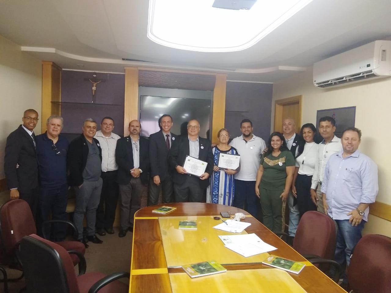 Delegados são empossados em Anápolis | CRECI-GO/ Conselho Regional de Corretores de Imóveis de Goiás