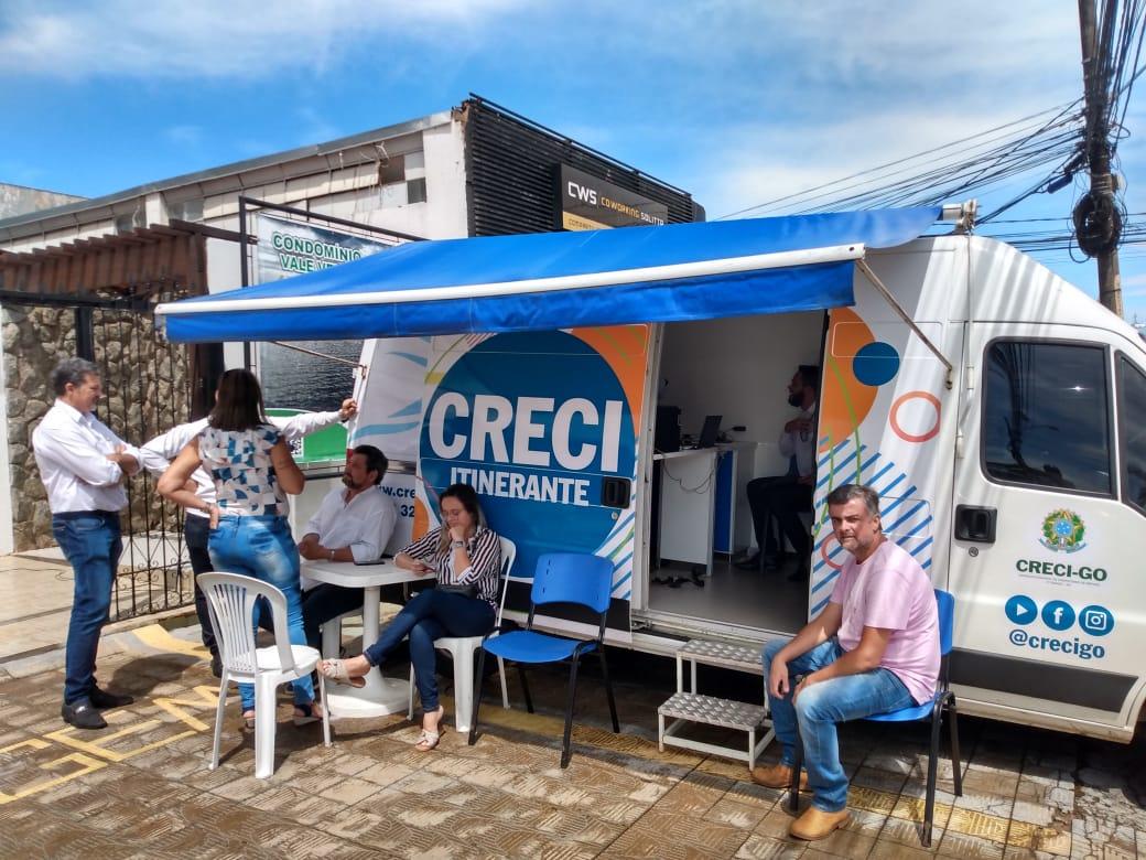Creci Itinerante realiza mais de 80 serviços na região do Sudoeste Goiano | CRECI-GO/ Conselho Regional de Corretores de Imóveis de Goiás