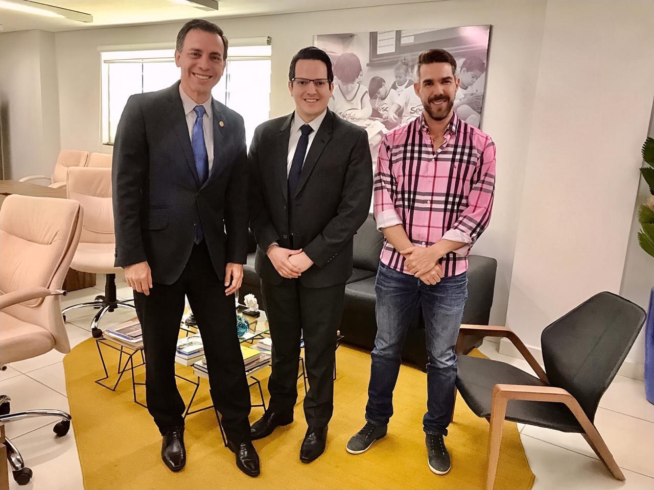 CRECI-GO visita diretor do Sesc Goiás  | CRECI-GO/ Conselho Regional de Corretores de Imóveis de Goiás