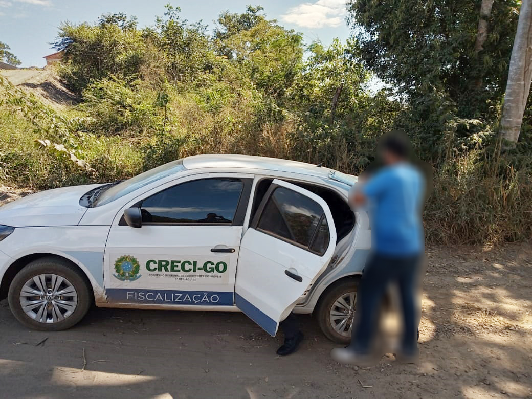 Contraventores são autuados em Alexânia | CRECI-GO/ Conselho Regional de Corretores de Imóveis de Goiás