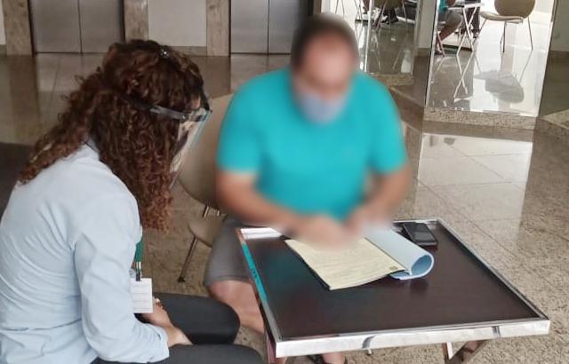 Fiscalização do CRECI-GO autua suspeito de praticar estelionato | CRECI-GO/ Conselho Regional de Corretores de Imóveis de Goiás