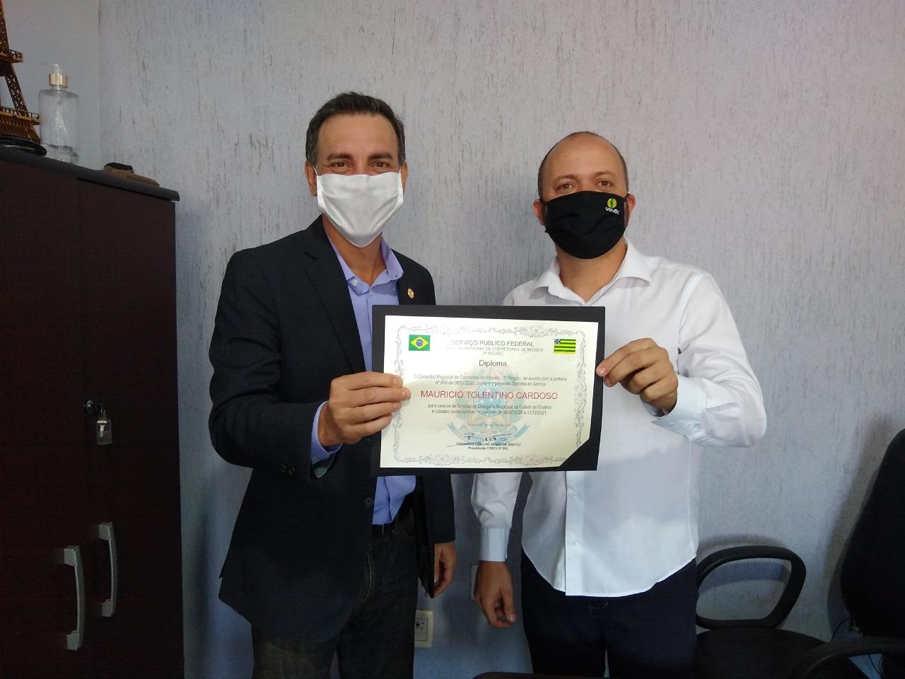 CRECI-GO empossa novo Delegado em Goiânia | CRECI-GO/ Conselho Regional de Corretores de Imóveis de Goiás