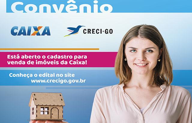 Abertura do cadastro para venda de imóveis da Caixa | CRECI-GO/ Conselho Regional de Corretores de Imóveis de Goiás