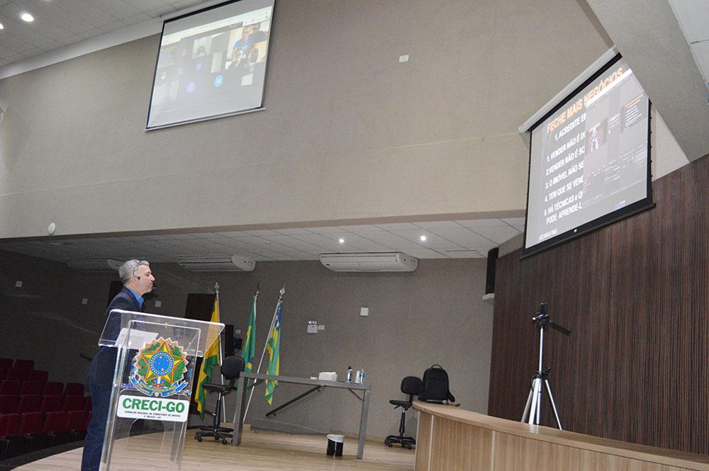 CRECI-GO promove palestra Online | CRECI-GO/ Conselho Regional de Corretores de Imóveis de Goiás