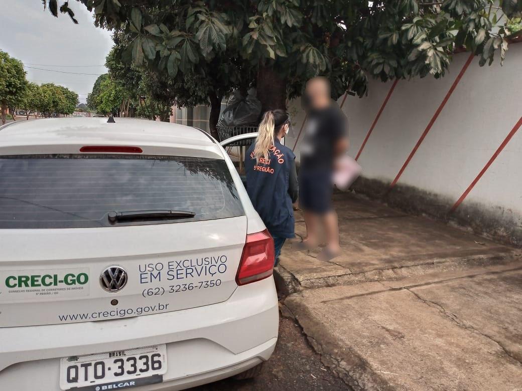 Fiscalização autua contraventores | CRECI-GO/ Conselho Regional de Corretores de Imóveis de Goiás