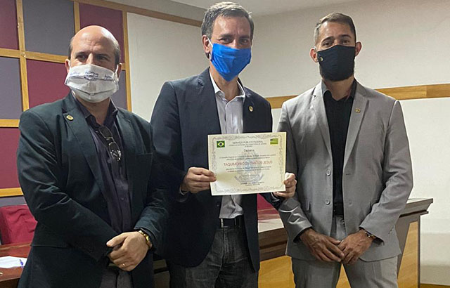 Delegado do Creci é empossado em Anápolis | CRECI-GO/ Conselho Regional de Corretores de Imóveis de Goiás