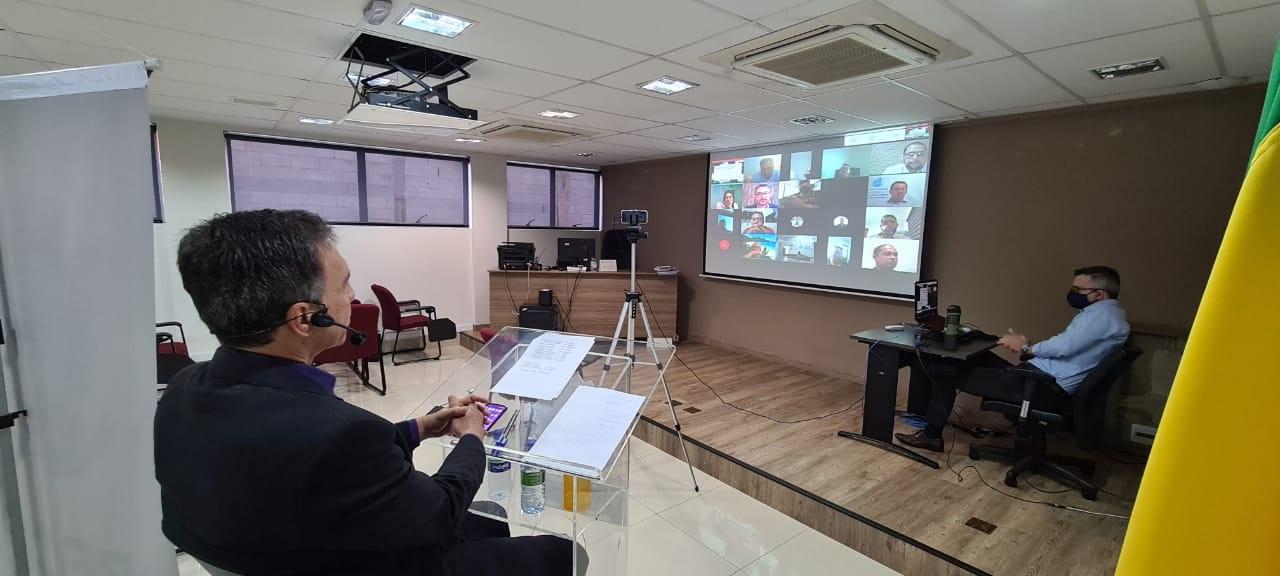 CRECI-GO conclui circuito de Encontro Virtual de Delegados | CRECI-GO/ Conselho Regional de Corretores de Imóveis de Goiás