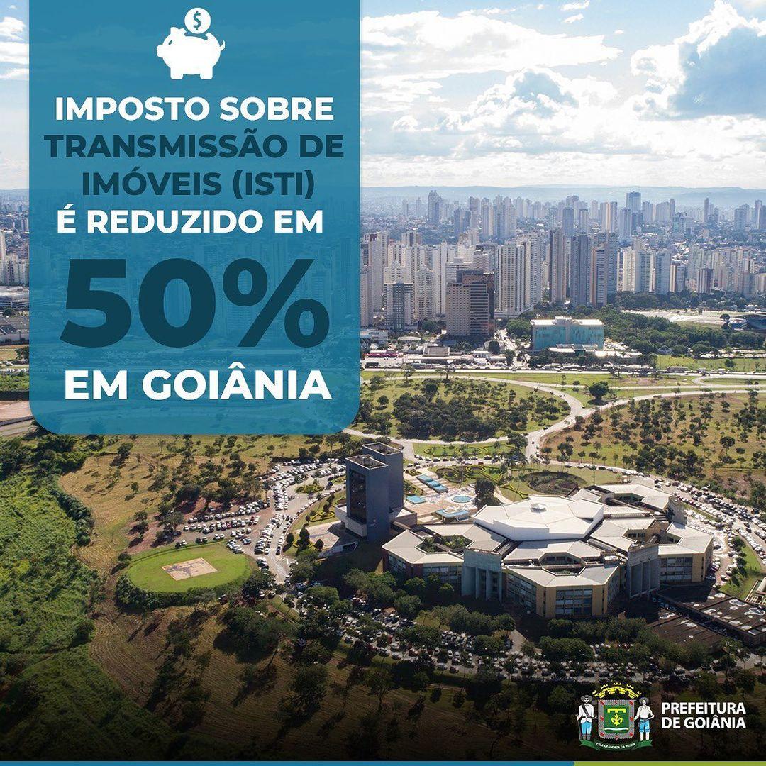 Prefeitura de Goiânia reduz alíquota do ISTI | CRECI-GO/ Conselho Regional de Corretores de Imóveis de Goiás