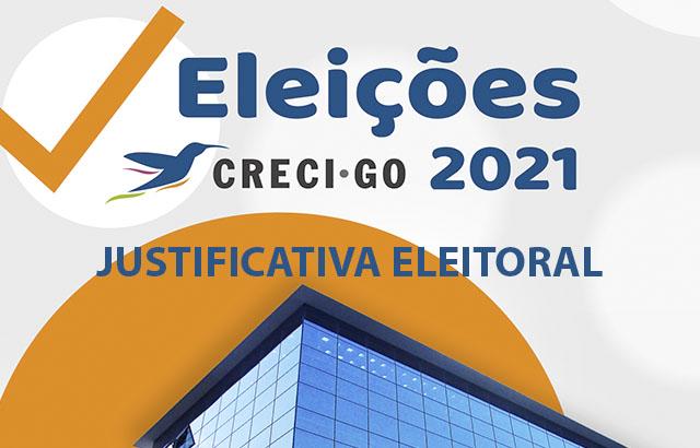 Justificativa eleitoral deve ser enviada até dia 05 de outubro | CRECI-GO/ Conselho Regional de Corretores de Imóveis de Goiás